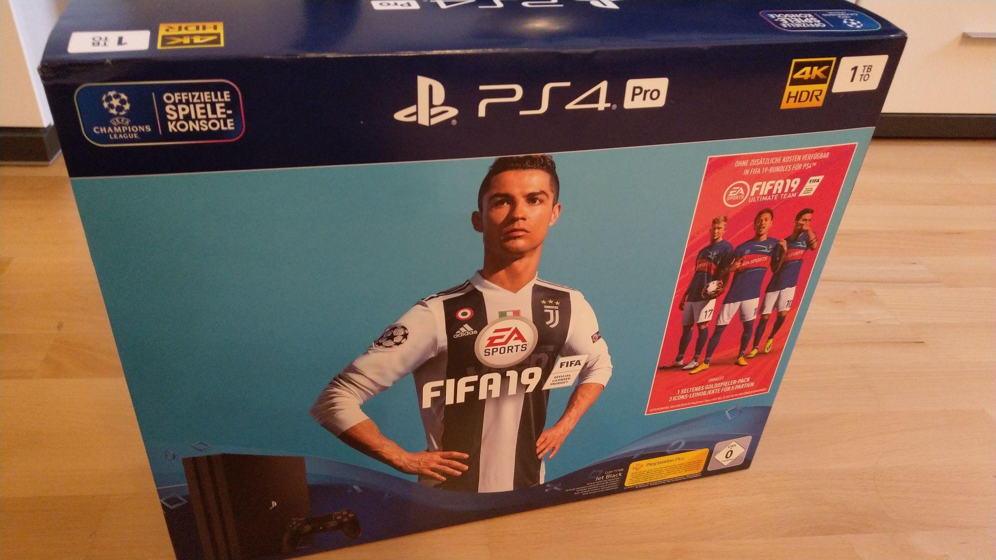 Müller LOKAL - PS4 PRO FIFA Bundle