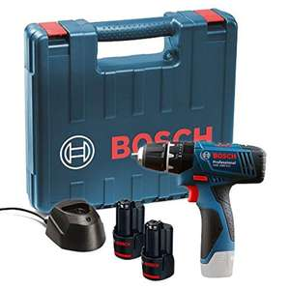 [Amazon.uk] Bosch Professional GSB 12V-15 Akku-Schlagbohrschrauber inkl. L-Boxx + 2 Akkus 1.5Ah
