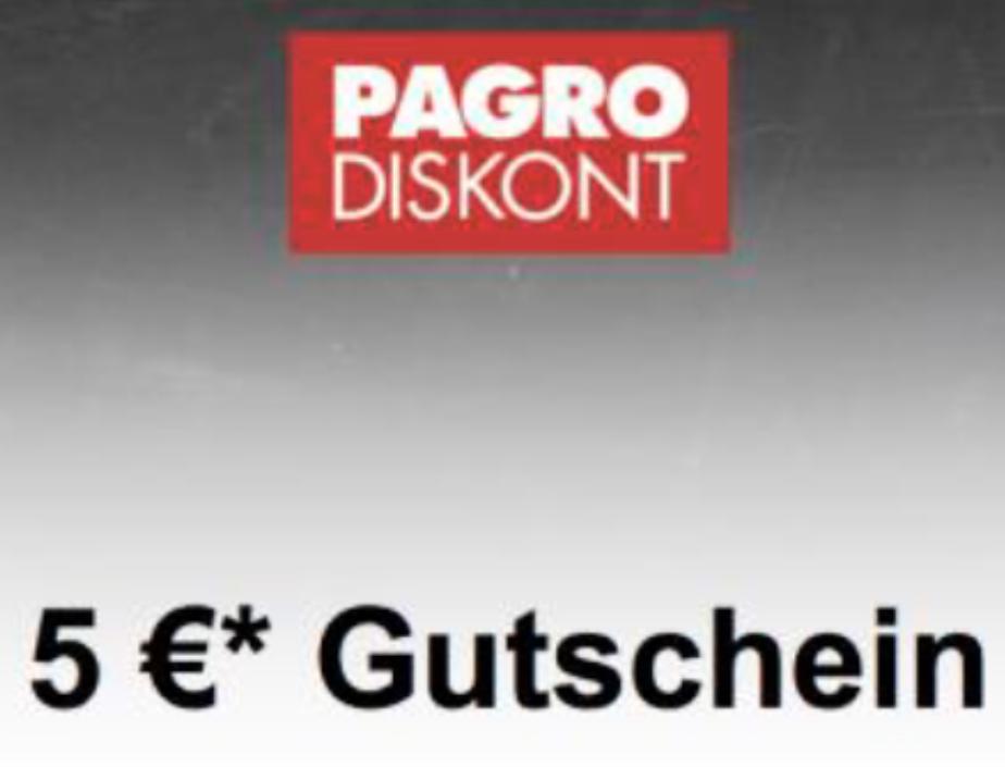 Pagro - 5 € Sofort Rabatt ab 30 €