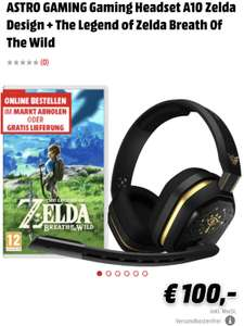 ASTRO GAMING Gaming Headset A10 Zelda Design + The Legend of Zelda Breath Of The Wild