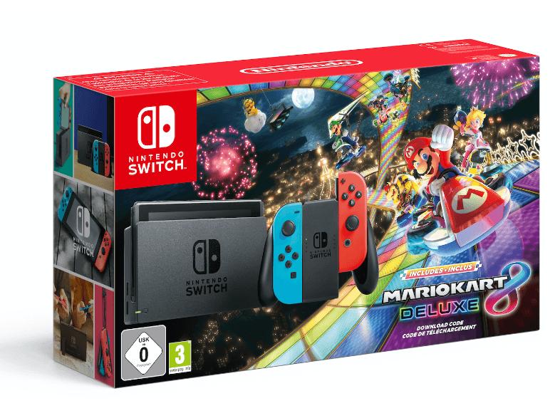 Nintendo Switch Bundle Mario Kart 8 Deluxe Mediamarkt Deutschland