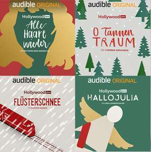 Audible.de: 4 Hörbücher im Advent, gratis
