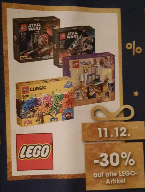 [Libro] -30% auf alle Lego & Duplo Artikel am 11.12. (-25% auf viele Spielwaren ab 6.12.)