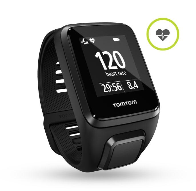 TomTom Spark 3 Cardio (Armbandlänge Large - Small ist aktuell nicht verfügbar)