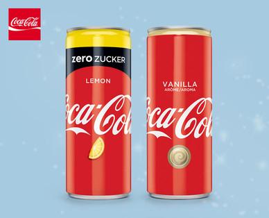 COCA-COLA  Coke Lemon Zero/Vanilla 0,5l Dose