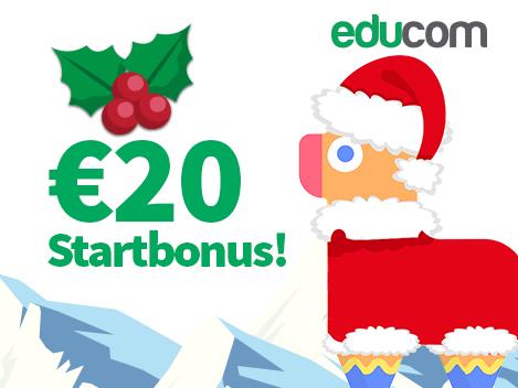 [educom] 20 Euro Startbonus für einen educom-Tarif