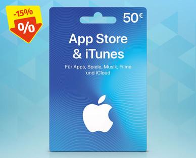 -15% auf 50€ Itunes Geschenkkarte bei Hofer