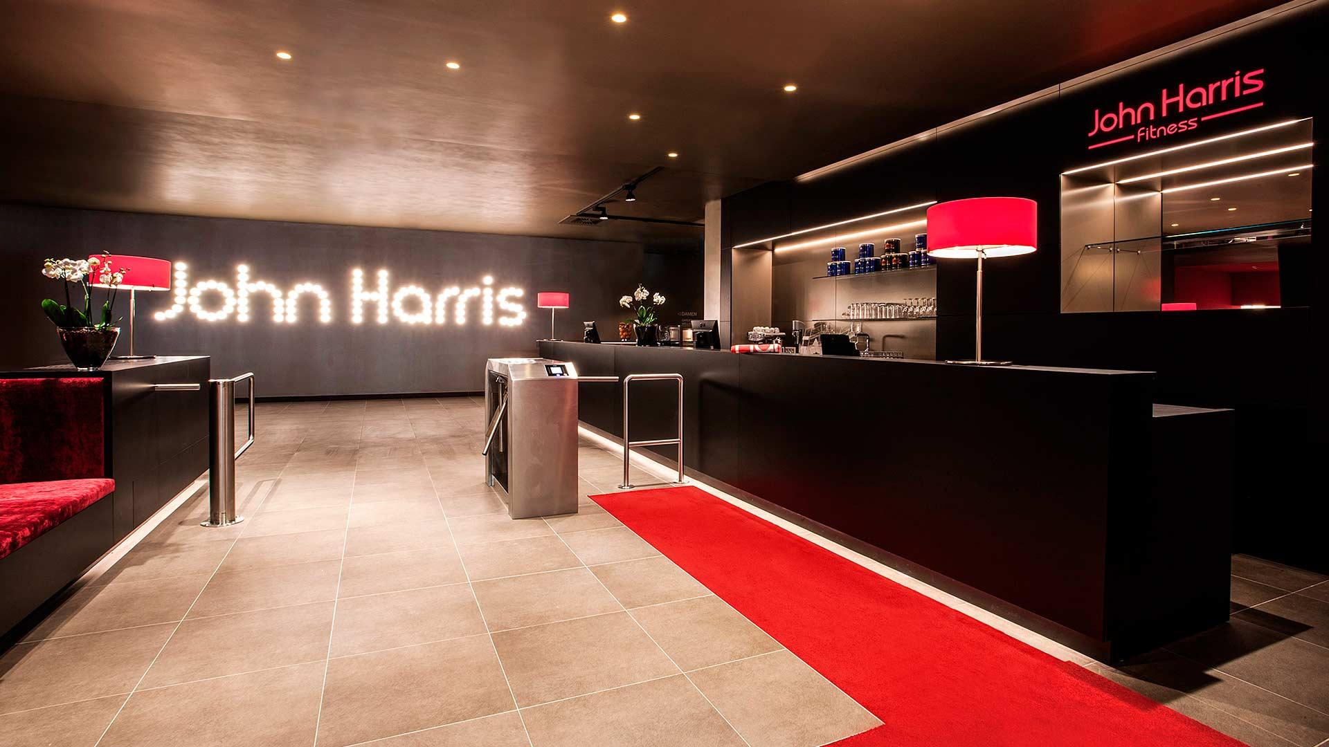 John Harris Fitnessstudio Neueröffnung 1100 Hauptbahnhof
