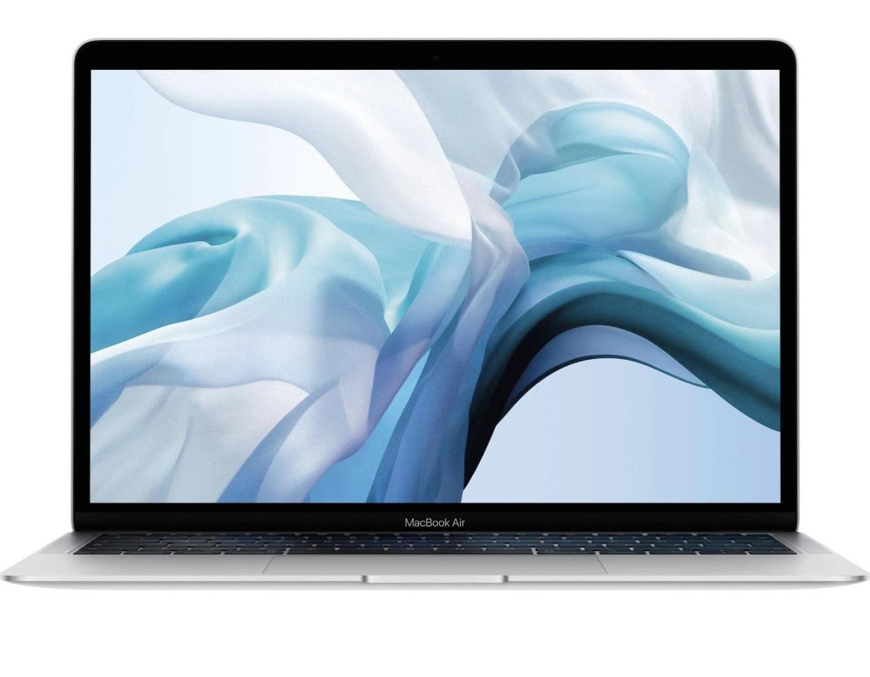Apple MacBook Air, Core i5-8210Y, 8GB RAM, 128GB SSD, grau (2018) für 1007,10€