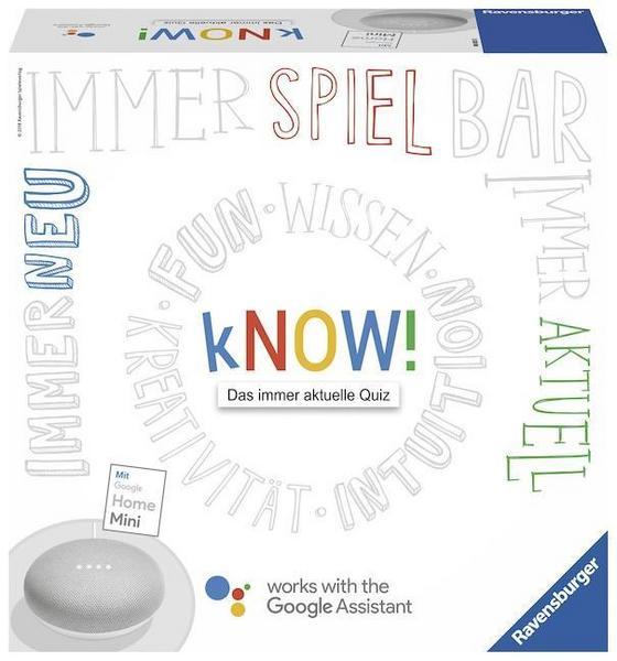 Know - Wissensspiel inklusive Google Home Mini