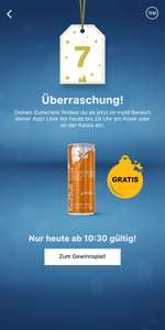 Gratis! Red Bull Winteredition (Rumtopf) bei McDonalds