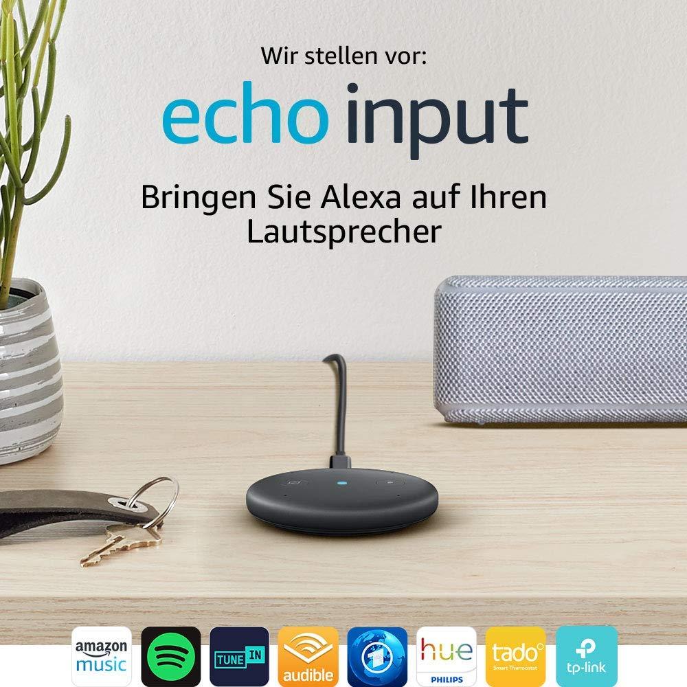 Amazon Echo Input bei Kauf eines Bluetooth Lautsprechers um 50% reduziert