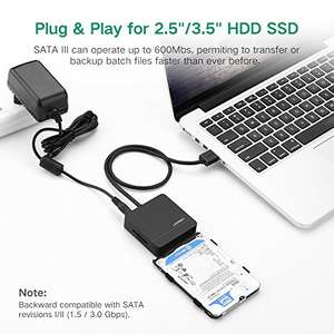 UGREEN USB SATA Adapter USB 3.0