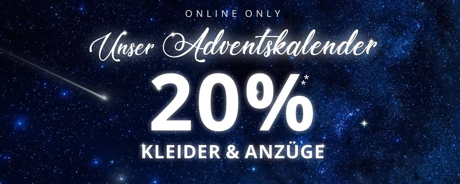 [Stilvoller Preisjäger] 20% Rabatt auf Kleider und Anzüge bei Peek&Cloppenburg