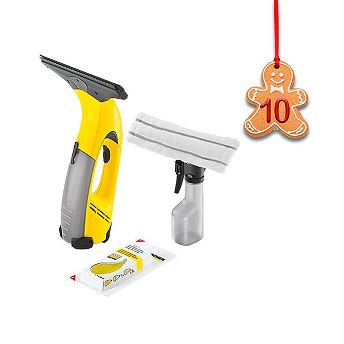 Kärcher Fenstersauger WV52 Plus + Extra Reinigungskonzentrat