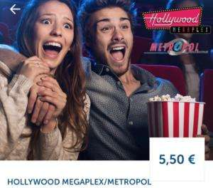 Hollywood Megaplex / Metropol - diesen Montag - Kino Tickets um 4,50 €