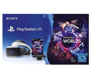 Amazon.it: Playstation VR (neue Version) inkl. Kamera und VR-Worlds um 183,42€ // mit 4 Spielen um 236,13€