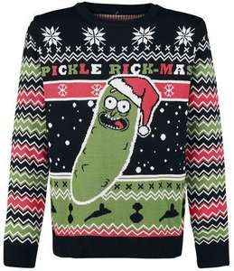 Rick and Morty Weihnachtspulloverm