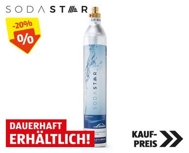 Sodastar Zylinder (für Sodastream passend) um € 19,99 zur Einführung bei Hofer