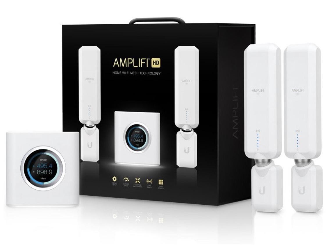 Ubiquiti AmpliFi HD WiFi System, Mesh Router