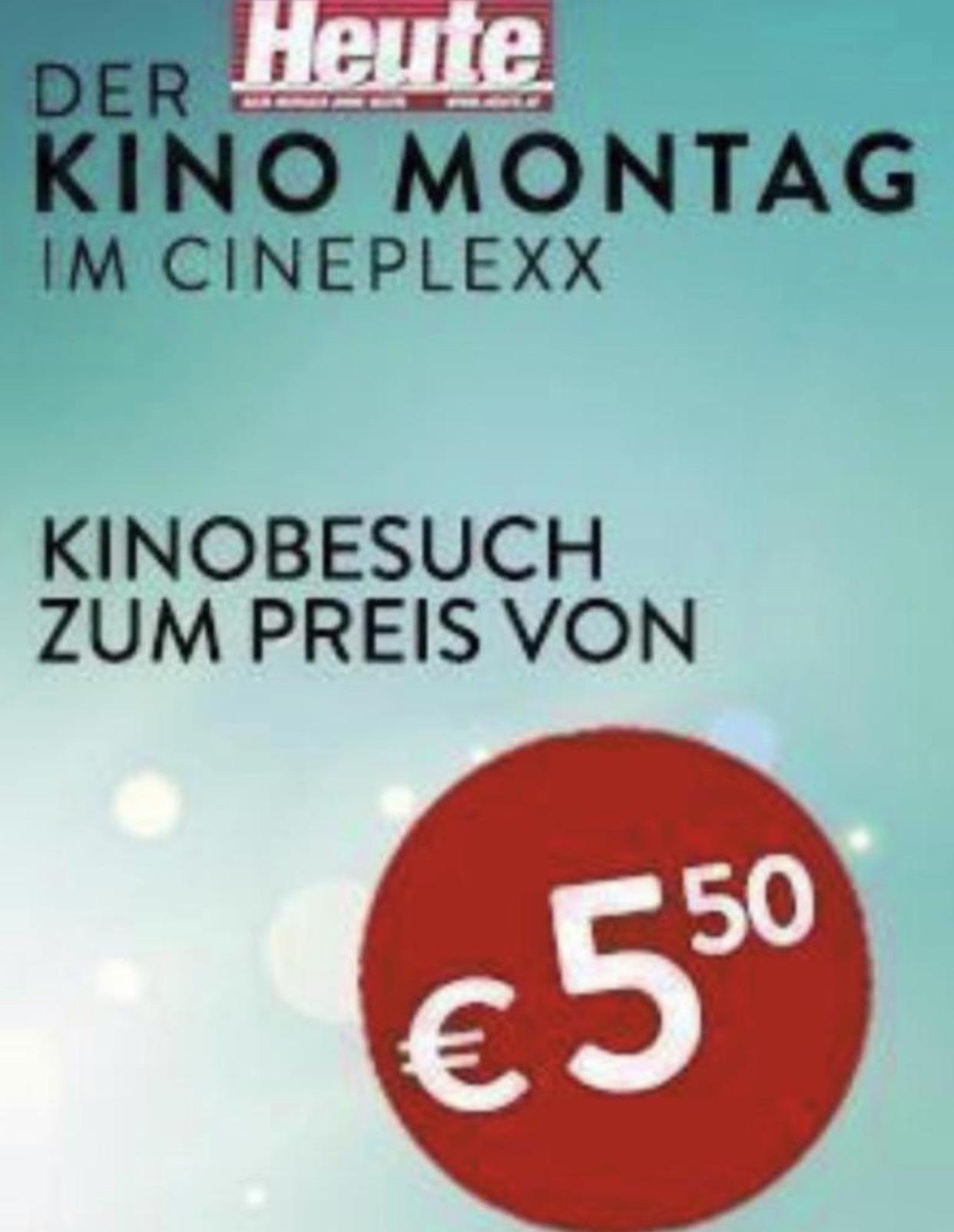 Heute Kino Montag: Cineplexx und Constantin Kinos 5,5€ pro Ticket. Dank Cashback nur 4,50€ (Kassenbon nur bis 18:20 gültig)