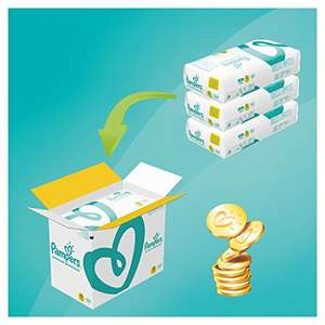 168x Pampers Premium Protection Windeln