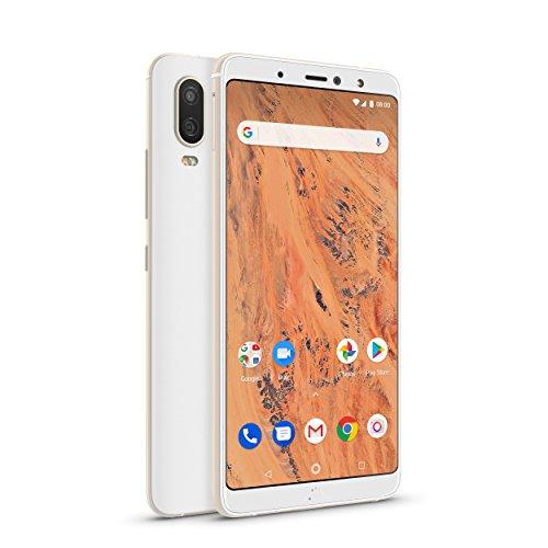 [amazon] BQ Aquaris X2 Smartphone white/sand gold