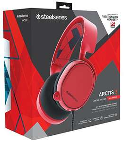 [amazon] SteelSeries Arctis 3 Legacy in solar red - ab 30. Dezember verfügbar
