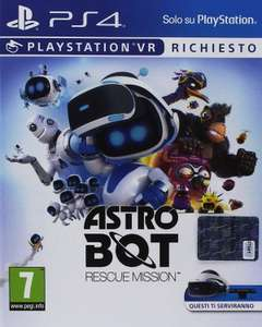 Amazon.it Astro Bot Rescue Mission (PSVR)  um 13.64