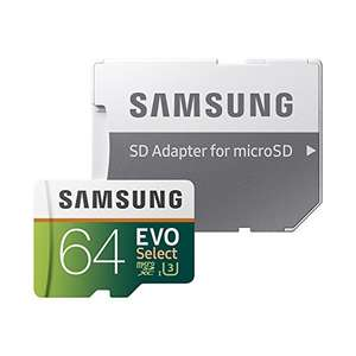 Samsung EVO Select microSDXC 64GB MB-ME64GA/EU Speicherkarte für 16,99€