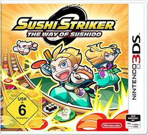 Amazon.de: Sushi Striker: The Way of Sushido (Nintendo 3DS) um 14,78€