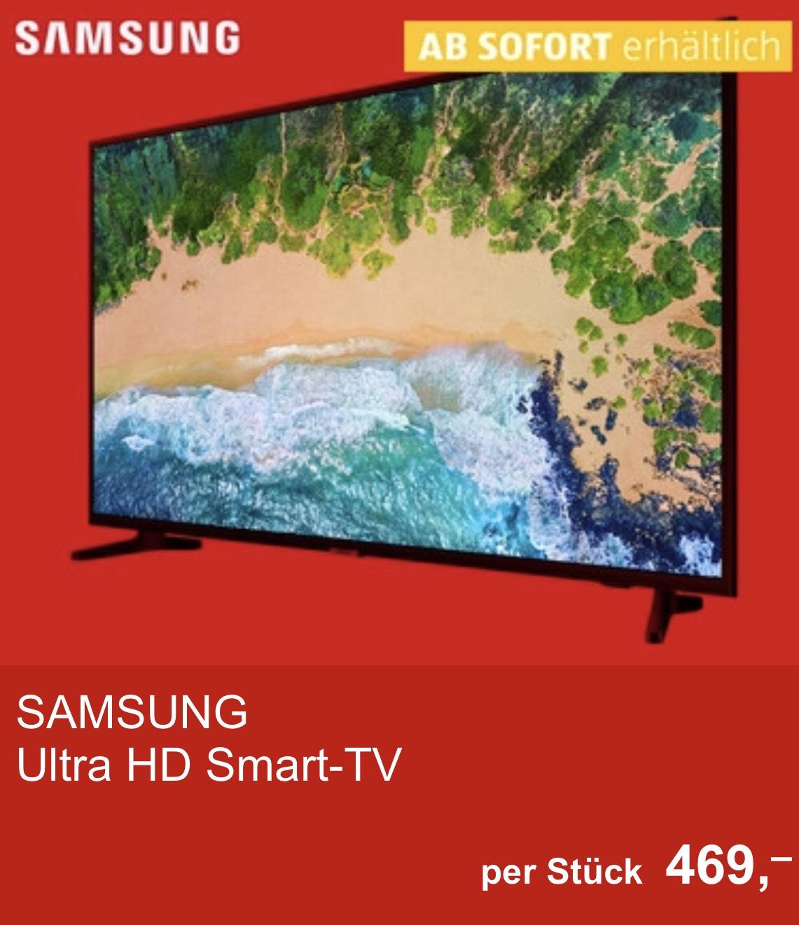 Samsung UE55 NU7091 Hofer Abholung oder Media Saturn Gratisversand