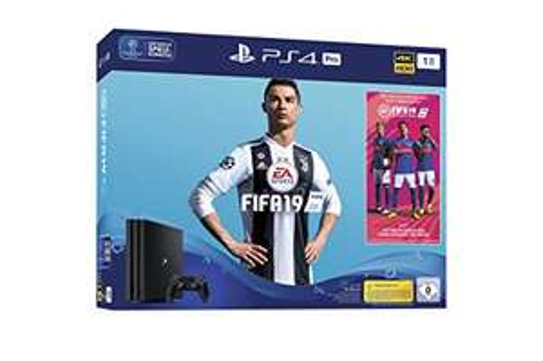 PlayStation 4 Pro - Konsole (1TB) inkl. FIFA 19