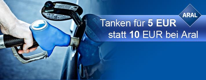 """Clever tanken mit 10€ Aral-Tankgutschein für 5€ - """"Citydeal"""" Neukundenaktion"""