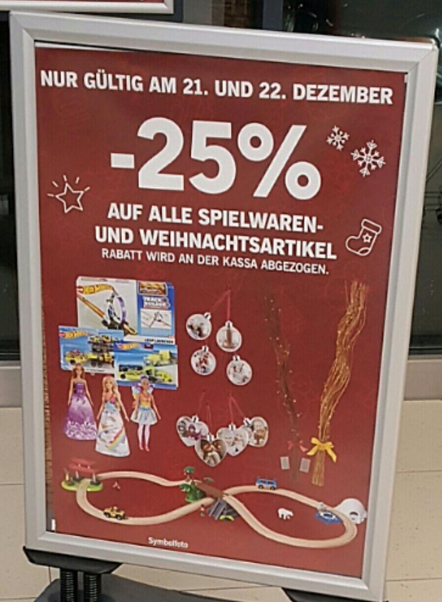 [Lidl] -25% auf alle Spielwaren und Weihnachtsartikel letzte Angebots Übersicht
