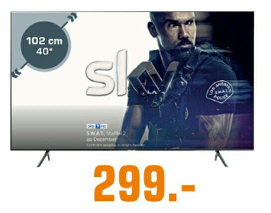 [Saturn Frühshoppen] Samsung 40 Zoll UHD LED Smart-TV40 NU 7190
