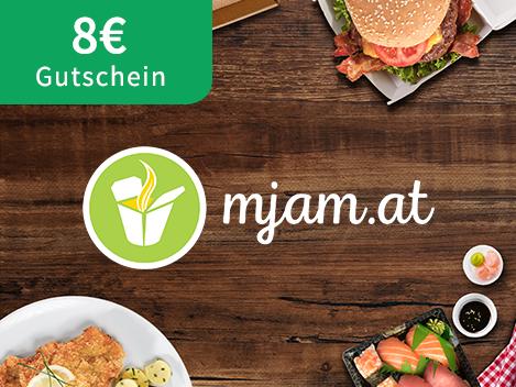 (Educom) 8 € Mjam Gutschein ab 12 € für Neukunden
