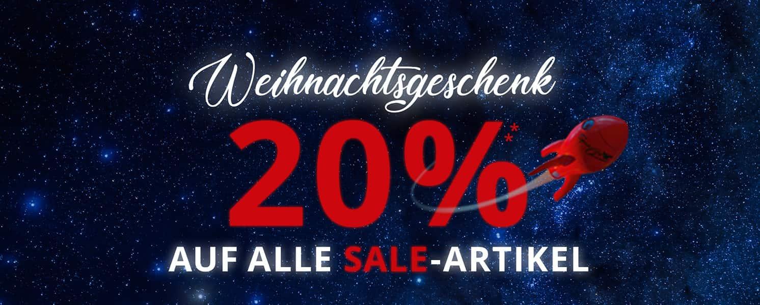 Peek & Cloppenburg Weihnachtsgeschenk / 20% auf alle Sale-Artikel (nur Online)