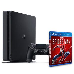 Universal - PlayStation 4 Slim (PS4 Slim) 1 TB (Bundle, inkl. Spider-Man)