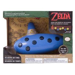 www.gamestop.at The Legend of Zelda - Elektronische Ocarina of Time für 10,00 Offline in den Stores statt 29,99