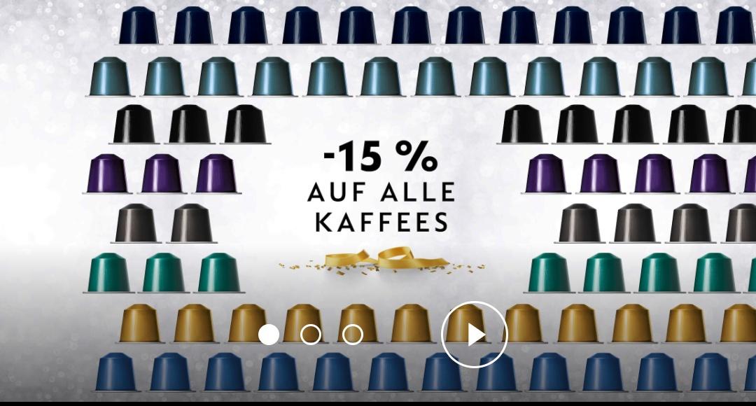 Nespresso  -15%