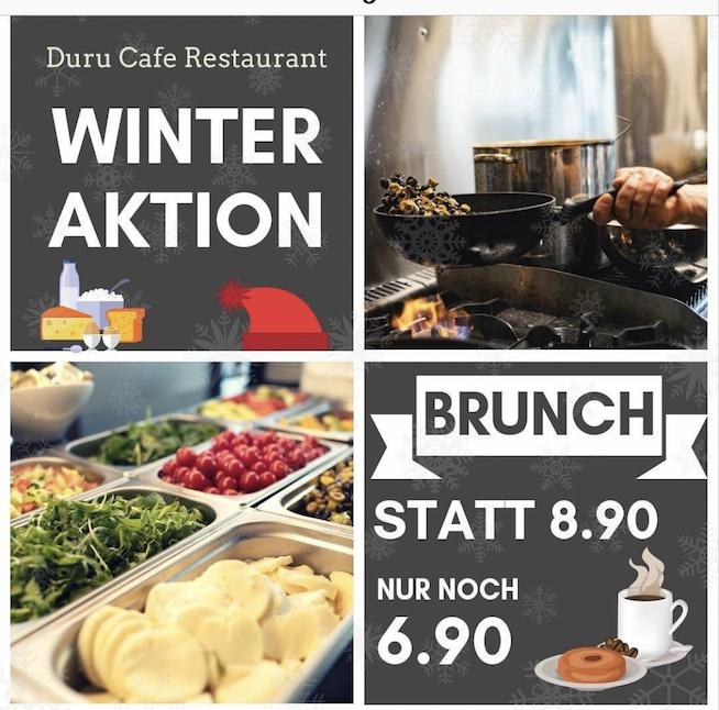 Brunch bei Duru Cafe