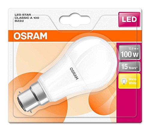 6x Osram LED - 2700 K, 13W statt 100W (ACHTUNG: Adapter erforderlich)