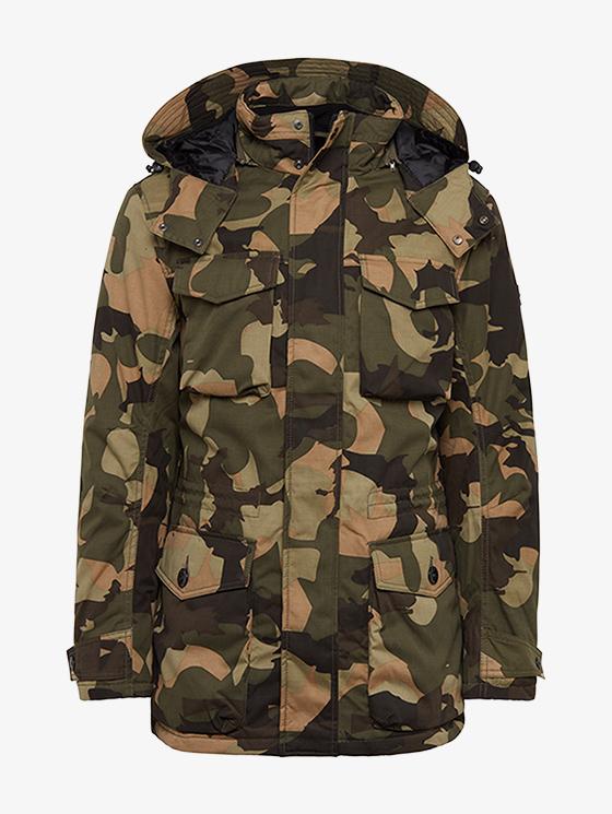 [Tom Tailor] Jacke mit abnehmbarer Kapuze + Füllartikel für 27,74 Euro