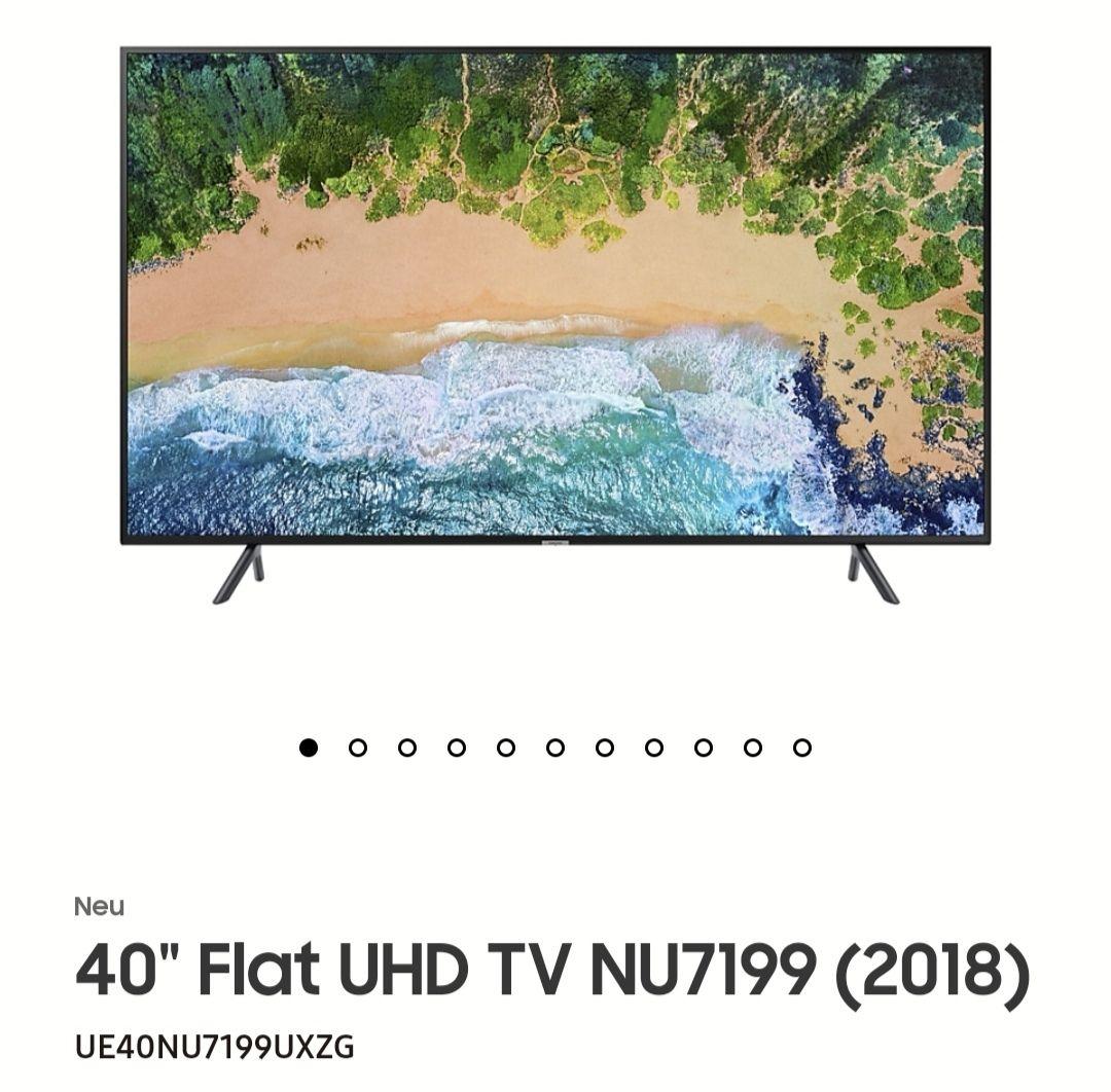 Samsung 4K UHD UE40NU7199UXZG LED-Fernseher mit 3 Jahre Garanite bei Universal