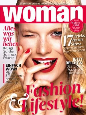 5 Ausgaben der WOMAN gratis testen