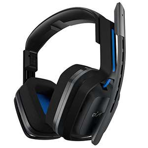 ASTRO Gaming A20 Headset (kabellos), kompatibel mit PlayStation 4, PC, Mac – Grau/Blau für 132,52€