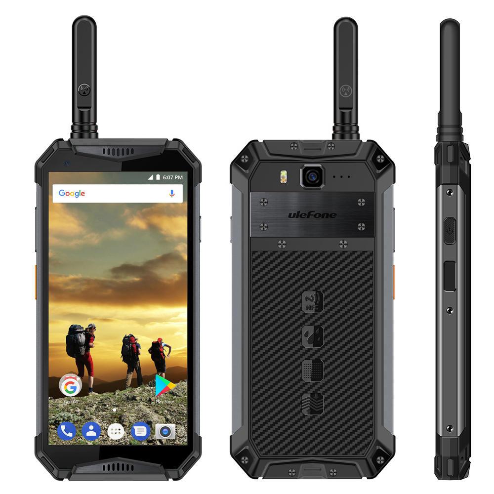 Ulefone Armor 3T Walkie Talkie Smartphone IP68 Waterproof, Sony Camera, 10 Ah Akku,