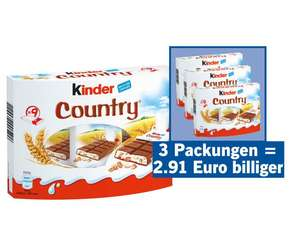 Kinder Country 2+1 gratis