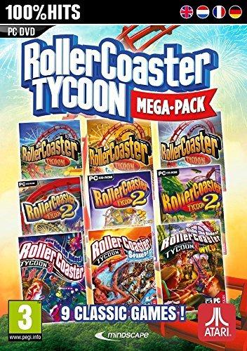 [MMOGA] RollerCoaster Tycoon Megapack (PC) für Steam